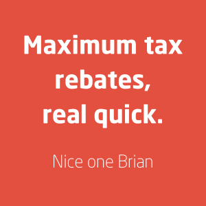 Tax refund services