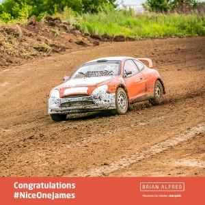 Rally day racing car
