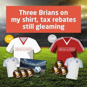 Three Brians Facebook competition