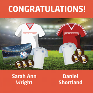 Congratulations to our Three Brians on Me Shirt Competition winners