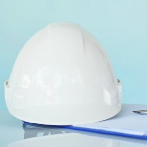 Construction Workers Hat on a Tax Rebate pack