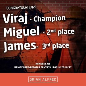 Brian's Rebate League